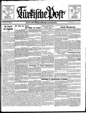 Türkische Post vom 21.08.1935