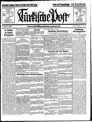 Türkische Post vom 24.08.1935