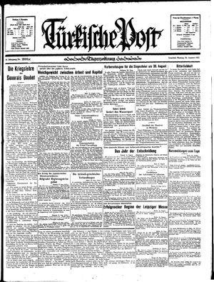 Türkische Post vom 26.08.1935