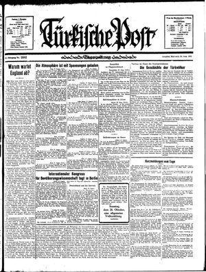 Türkische Post vom 28.08.1935