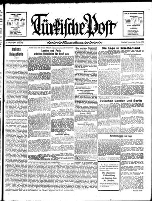 Türkische Post vom 29.08.1935