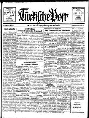 Türkische Post vom 04.09.1935