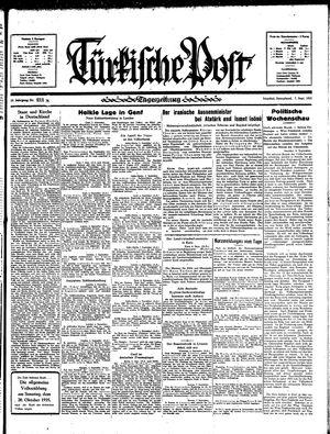 Türkische Post vom 07.09.1935