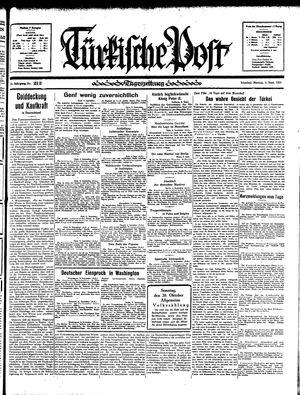 Türkische Post vom 09.09.1935