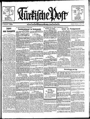 Türkische Post vom 10.09.1935