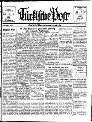 Türkische Post on Sep 12, 1935