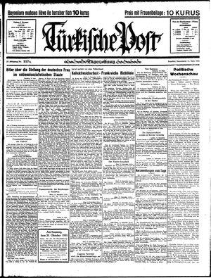 Türkische Post vom 14.09.1935