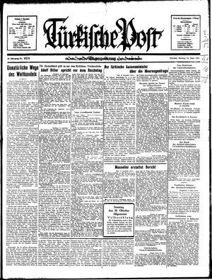 Türkische Post vom 16.09.1935