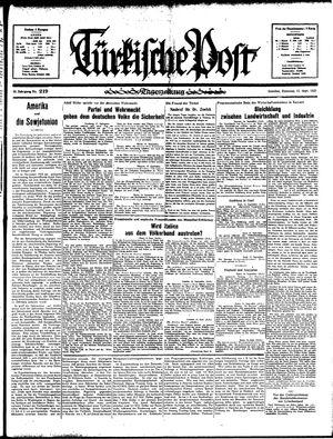 Türkische Post vom 17.09.1935