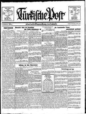 Türkische Post vom 19.09.1935