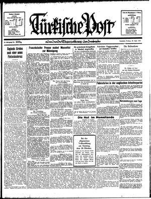 Türkische Post on Sep 20, 1935
