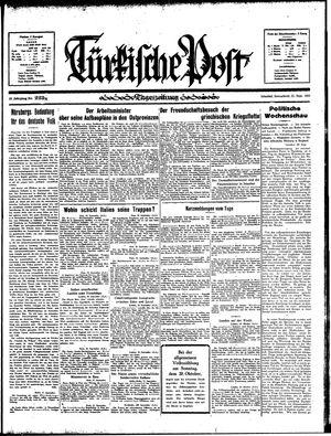 Türkische Post vom 21.09.1935