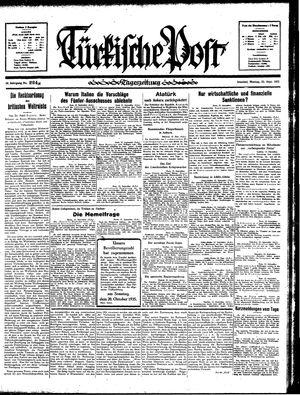 Türkische Post vom 23.09.1935
