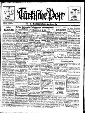 Türkische Post vom 24.09.1935