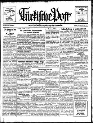 Türkische Post vom 25.09.1935
