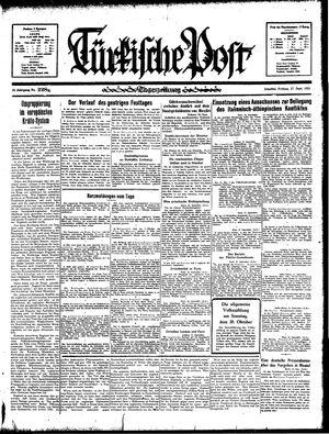 Türkische Post on Sep 27, 1935