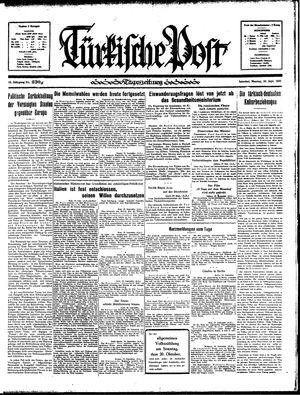 Türkische Post vom 30.09.1935