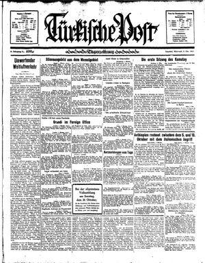 Türkische Post vom 02.10.1935