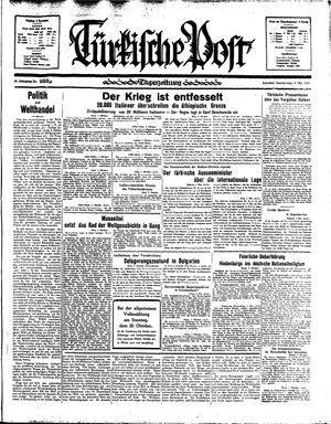 Türkische Post vom 03.10.1935