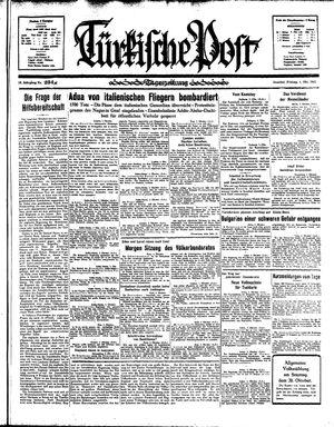 Türkische Post vom 04.10.1935