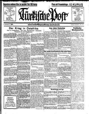 Türkische Post vom 05.10.1935