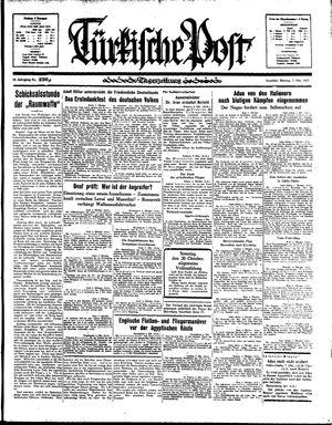 Türkische Post vom 07.10.1935