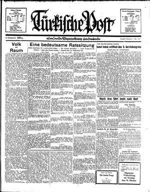 Türkische Post vom 08.10.1935