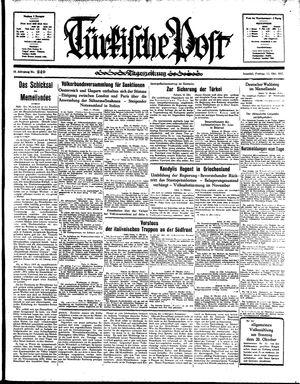 Türkische Post vom 11.10.1935