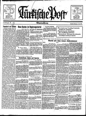 Türkische Post vom 05.01.1937