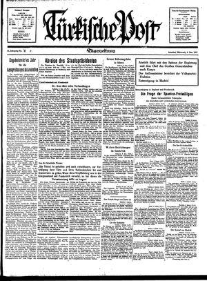 Türkische Post vom 06.01.1937
