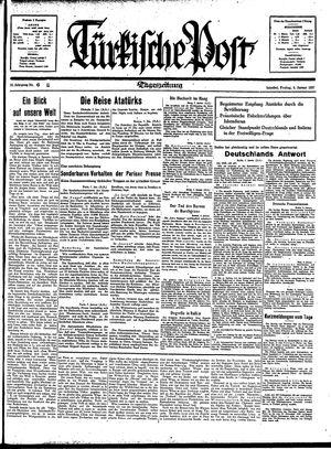 Türkische Post vom 08.01.1937