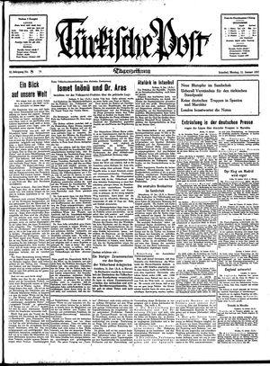 Türkische Post vom 11.01.1937