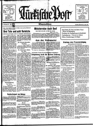 Türkische Post vom 13.01.1937