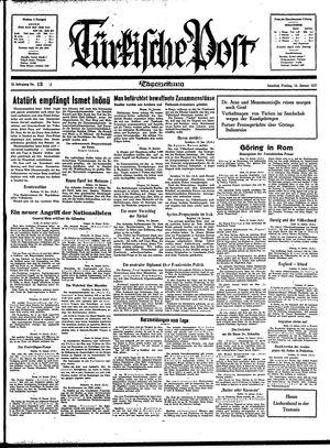 Türkische Post on Jan 15, 1937