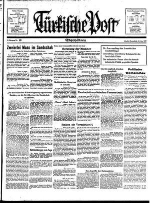 Türkische Post vom 16.01.1937