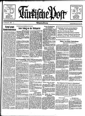 Türkische Post vom 20.01.1937
