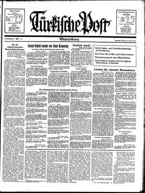 Türkische Post on Jan 29, 1937