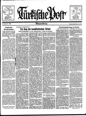 Türkische Post vom 30.01.1937