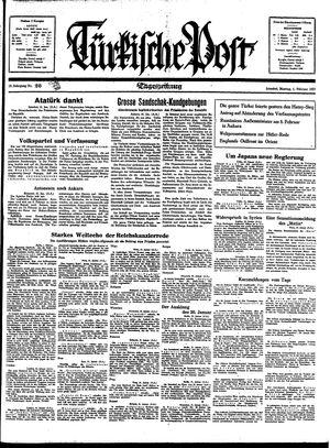 Türkische Post vom 01.02.1937