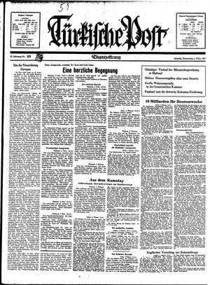 Türkische Post vom 04.02.1937