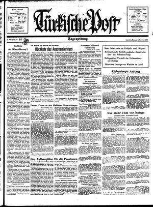 Türkische Post vom 08.02.1937