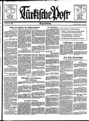 Türkische Post vom 16.02.1937