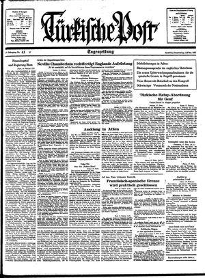 Türkische Post vom 18.02.1937