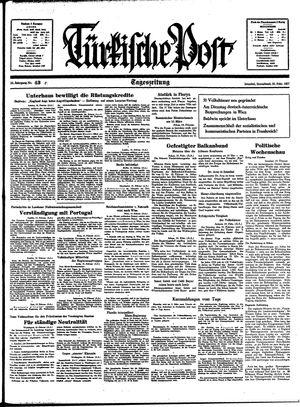 Türkische Post vom 20.02.1937
