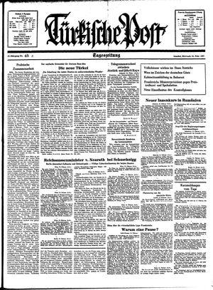 Türkische Post vom 24.02.1937