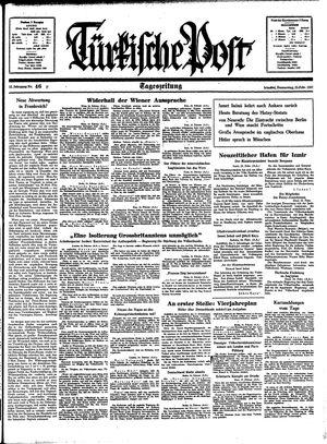 Türkische Post vom 25.02.1937