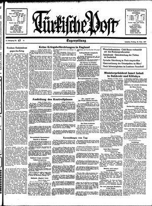 Türkische Post vom 26.02.1937