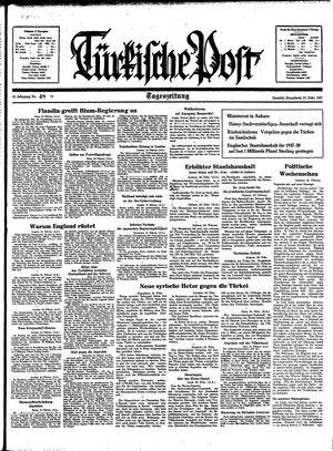 Türkische Post vom 27.02.1937