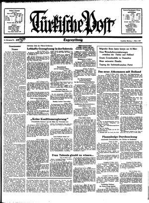 Türkische Post vom 01.03.1937