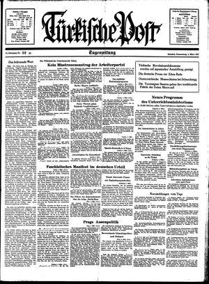 Türkische Post vom 04.03.1937